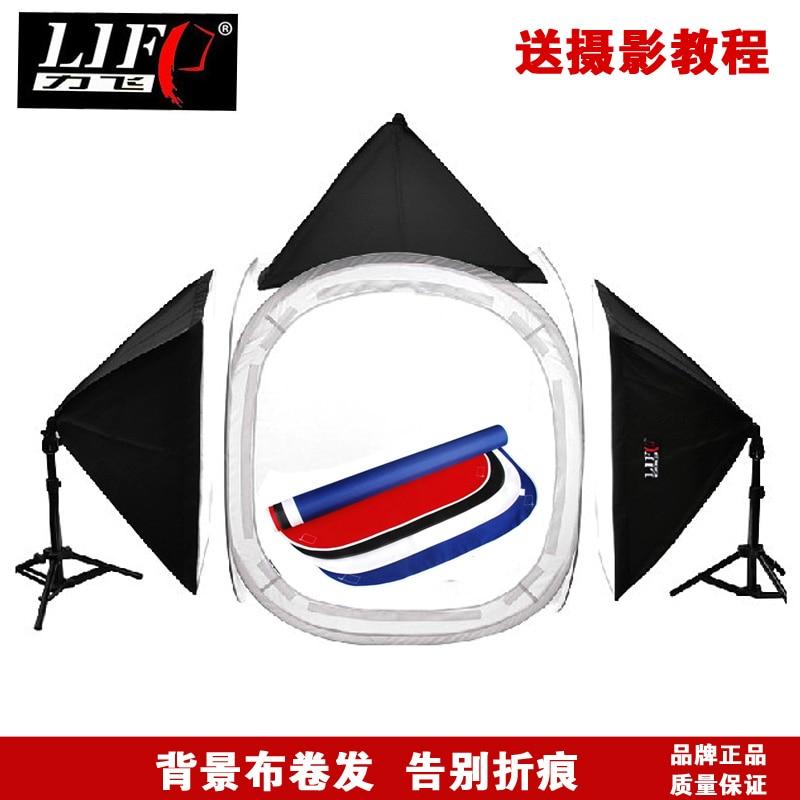 Adearstudio 80cm runda tältlampa mjuklåda bakgrundsduk fotografisk - Kamera och foto