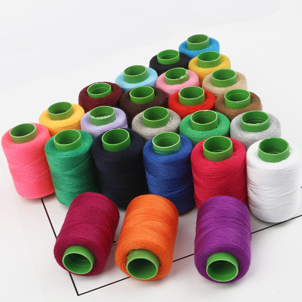 1pc High Tenacity Cotton Machine Embroidery Sewing Threads Hand Sewing Thread Craft Patch Steering-wheel Sewing Supplies