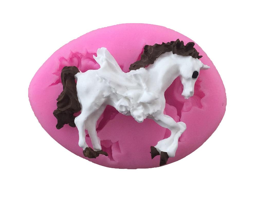 New!Animal Horse silicone fondant mold for cake decoration/Sugar paste chocolate mould decorating tools Sugar Craft 1837