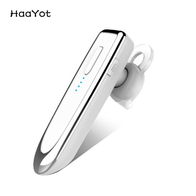 c9e84cec4bc HAAYOT Wireless Business Bluetooth Headset Long Standby Hands-free Bluetooth  Earphone with Mic Car driving for Xiaomi iPhone