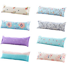 A Variety of Styles Color Long Throw Pillow Case Cover Hotel Pillow Cover 1.5m Long Polyester Pillow Home Household Decor(China)