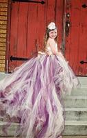 Baby Girl Children Swallowtail Clothing Swallow tail tutu skirt wedding party cloth set princess dress skirt