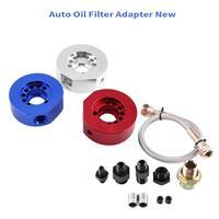 Dostaw Filtr Oleju Sandwich Plate Chłodnicy Oleju Silnika samochodu Adapter Kit dla Honda Acura LS B20 Car Adapter Filtra Oleju