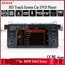 "7 ""pantalla HD Autoradio navegación gps para e46 M3 con GPS Bluetooth de Radio RDS USB SD Control Del Volante reproductor de DVD"