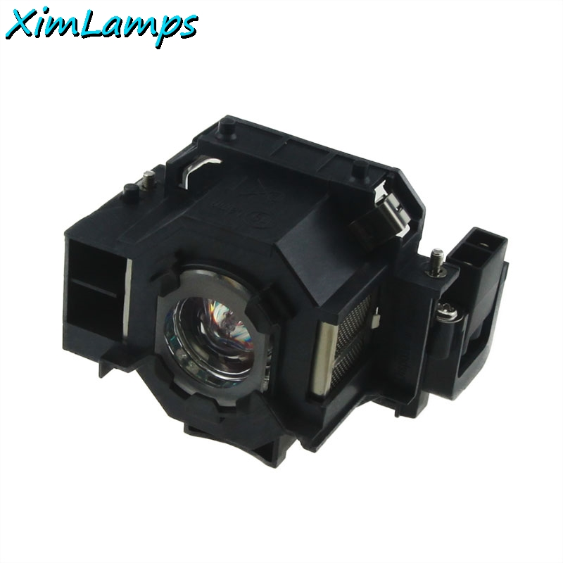 ELPLP41 Replacement Projector Lamp/Bulbs with Housing For Epson PowerLite S5 / S6 / 77C / 78, EMP-S5, EMP-X5, H283A, HC700