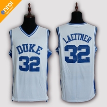 Cheap Christian Laettner Basketball Jersey 32  Duke University Blue Devils  Throwback Embroidery Stitched Retro Top 91051c799