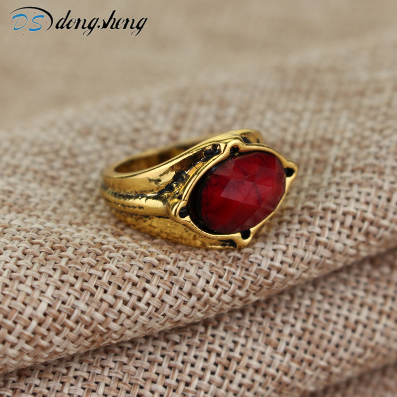 dongsheng Hot Sale Naryan herra Galadriel Gandalf Ring LOTR korut Elf Three Rings Muotikorut -25