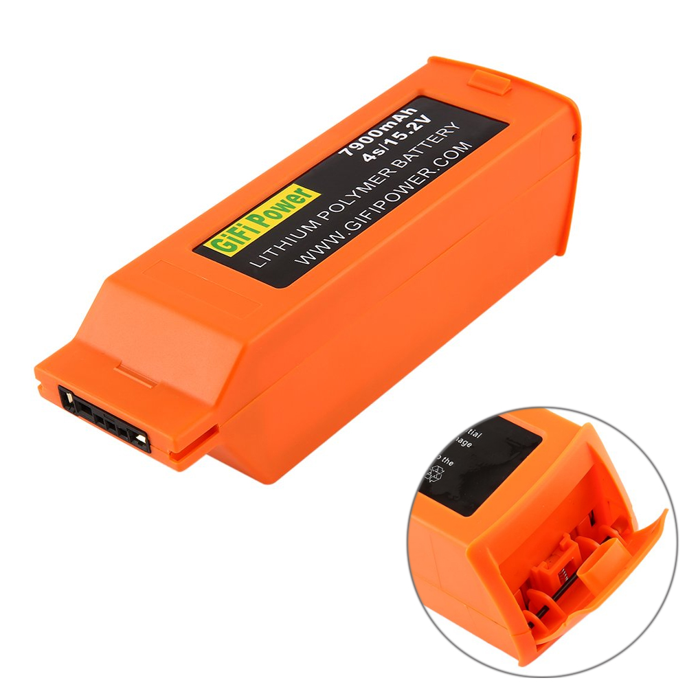 High Capacity Flight 7900mAh 4S 15 2V Lithium Polymer Replacement Backup Lipo Battery for YUNEEC RC