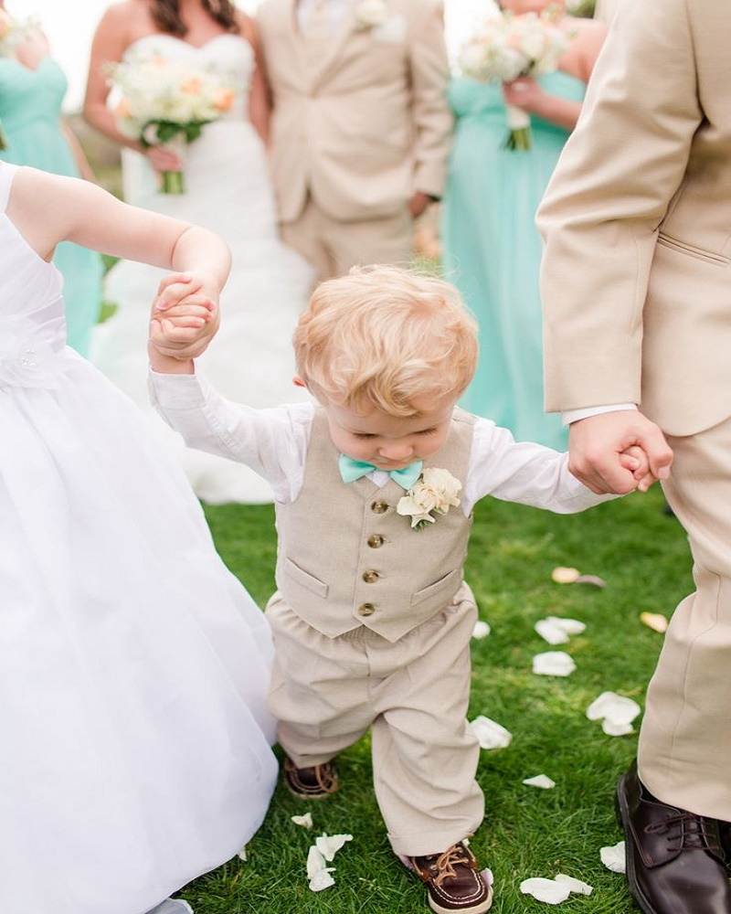New Arrival 2015 Summer Baby Boy Wedding With Clothes With