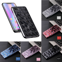 3D Diamond TPU Case For huawei honor 10 v10 nova 2i pattern soft shell V10 Ultra-thin diamond case