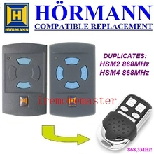 2017 new Hormann HSM2 868,HSM4 868mhz replacement remote control top quality centurion classic 1 classic 2 classic 3 remote control replacement top quality