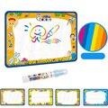 50x34 cm Crianças Bebê Adicionar Água com Magic Pen Doodle Pintura imagem Drawing Água Esteira do Jogo em Desenho Brinquedos Board Presente natal