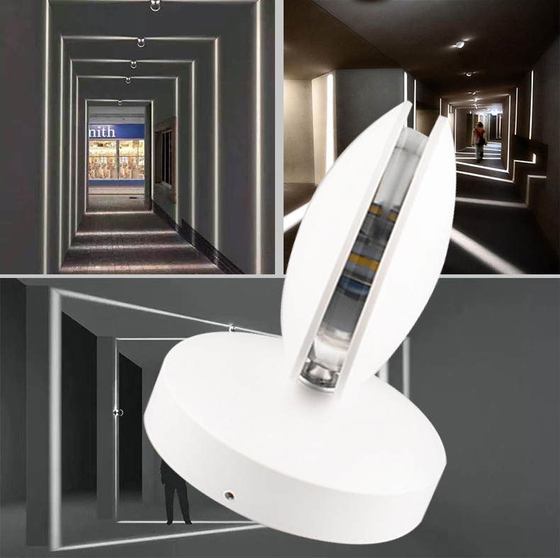 6w 10w Outdoor Led Wall Lamps Waterproof sconce Up and down side lighting 150 300mm outdoor waterproof one sided led wall lamp fitting corridor balcony up down single side outdoor lighting wall lamps