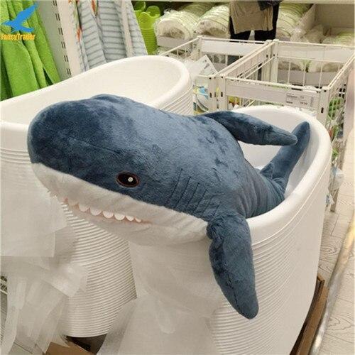 Fancytrader 39\'\' Big Plush Hammerhead Shark Soft Stuffed Lifelike Animal Shark Toy for Kids 100cm Great Gift & Home Decoration (8)