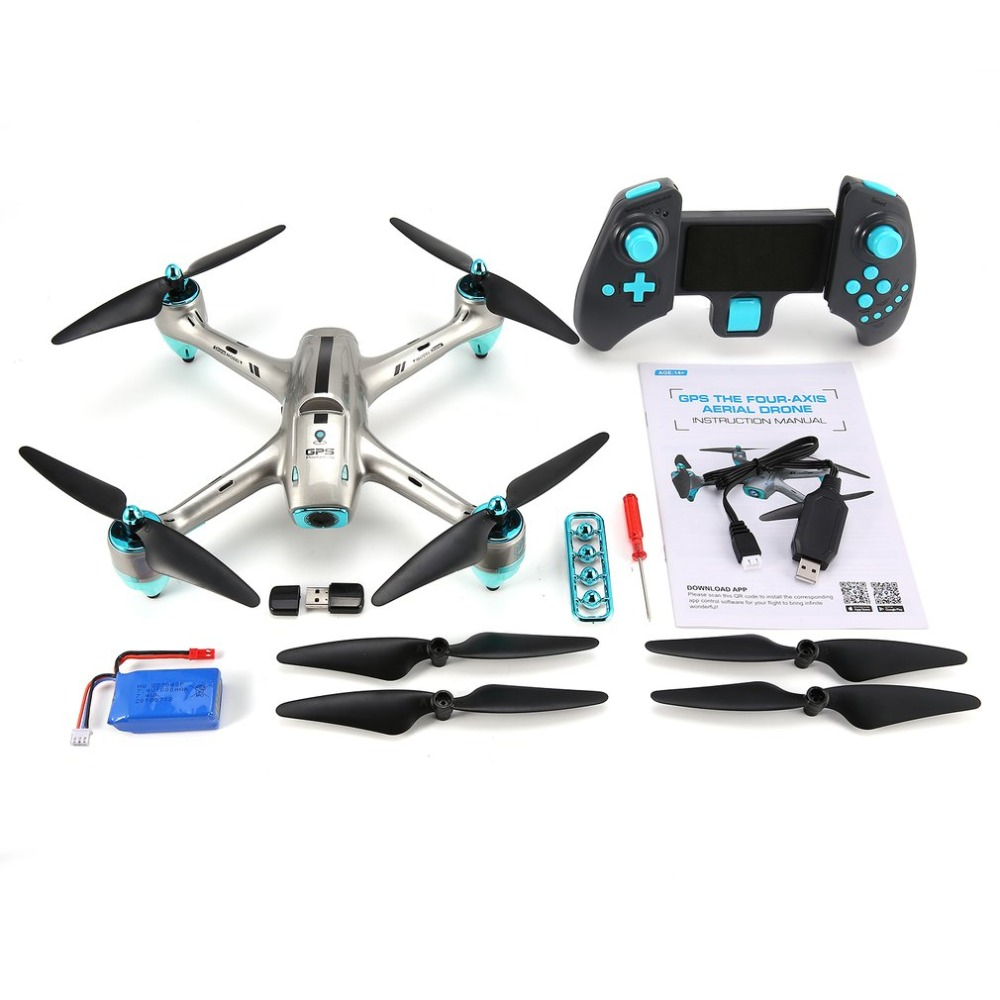 6957G 2.4G GPS Positioning 720P HD Wide Angle Camera FPV RC Drone Quadcopter Real-Time Fol