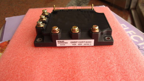 6MBP100RTA060 CNC  Fuji IGBT module for Fanuc drive amplifier 6MBP100RTA060