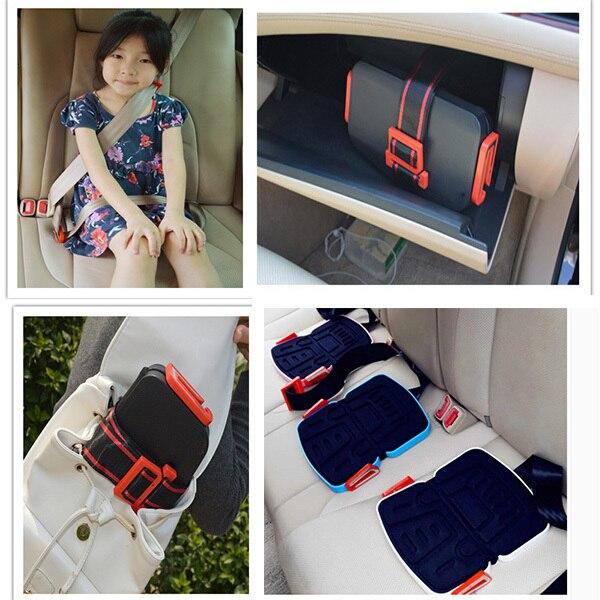 2016 Последние Дизайн Мода Мини Портативный Безопасности Детское Автокресло Yifold Складная Безопасности 3-12 лет Дети Автомобиля сиденья