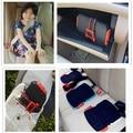 2016 El Último Diseño de Moda Mini Portátil Yifold Plegable Del Asiento de Coche de Seguridad de Refuerzo de la Seguridad 3-12 Años de edad Los Niños de Coches asiento