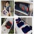2016 Mais Recente Design de Moda Mini Portátil Segurança Yifold Dobrável Do Assento de Carro Do Impulsionador Do Carro de Segurança 3-12 Anos de idade As Crianças assento