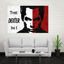 Nice New Dexter Poster Custom Canvas Poster Art Home Decoration Cloth Fabric Wall Poster Print Silk Fabric Print(China)