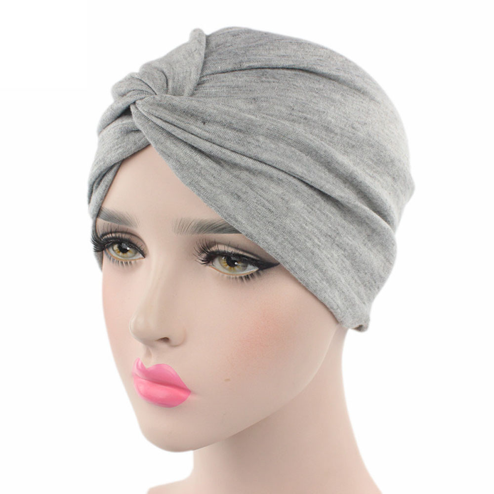 #5 DROPSHIP 2018 NEW Fashion Women Cancer Chemo Hat   Beanie   Scarf Turban Head Wrap Cap Fitted Freeship