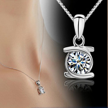 Fashionable Embrace Pendant Necklace For  Women Short Style Joker Necklace Fashion Jewelry Silver Color Necklace fashionable bohemia style butterfly pendant necklace copper blue