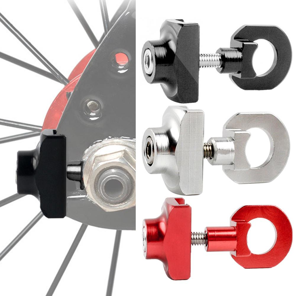 bicycle chain adjuster tensioner aluminum alloy bolt for bike single speed@@