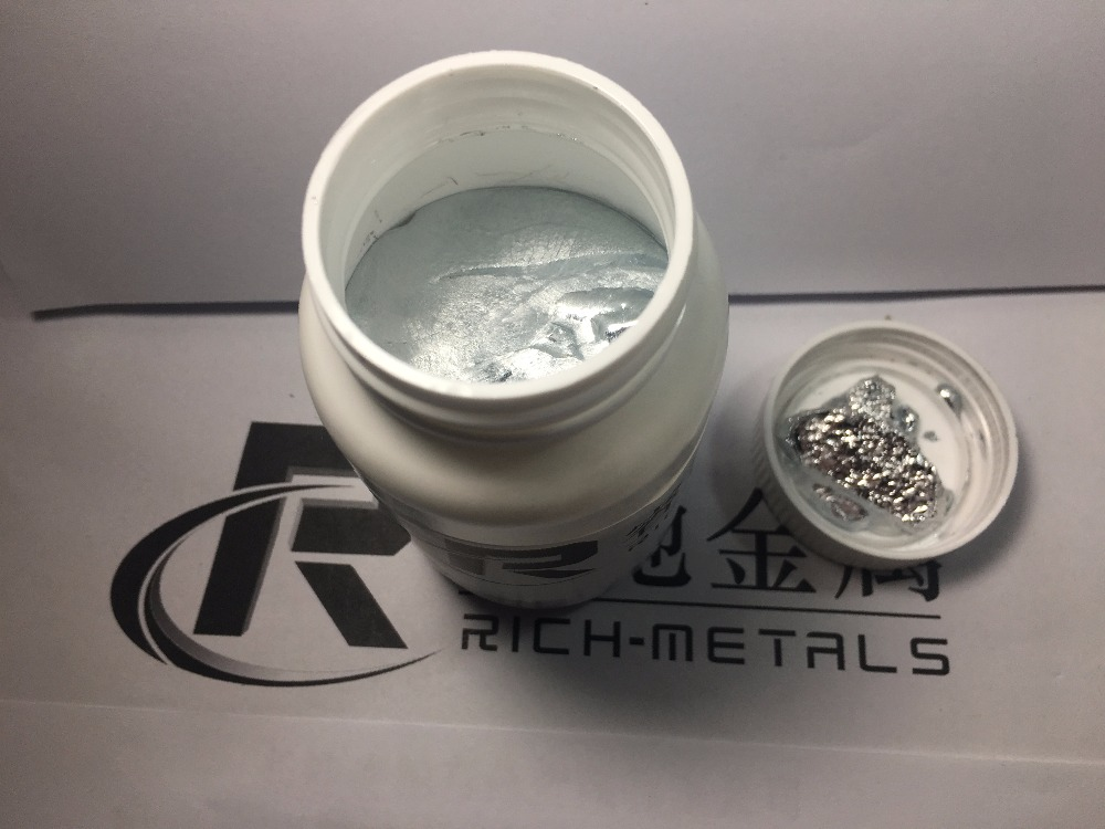 High pure Gallium Metal 750 grams 99 99 pure by Changsha Rich Nonferrous Metals Co Ltd in Magnetic Materials from Home Improvement