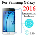 Vidrio templado para samsung galaxy a3 a5 a7 2016 j1 j2 J3 J5 J7 2015 J120F J320F J510F J710F Protector de Pantalla Protectora película