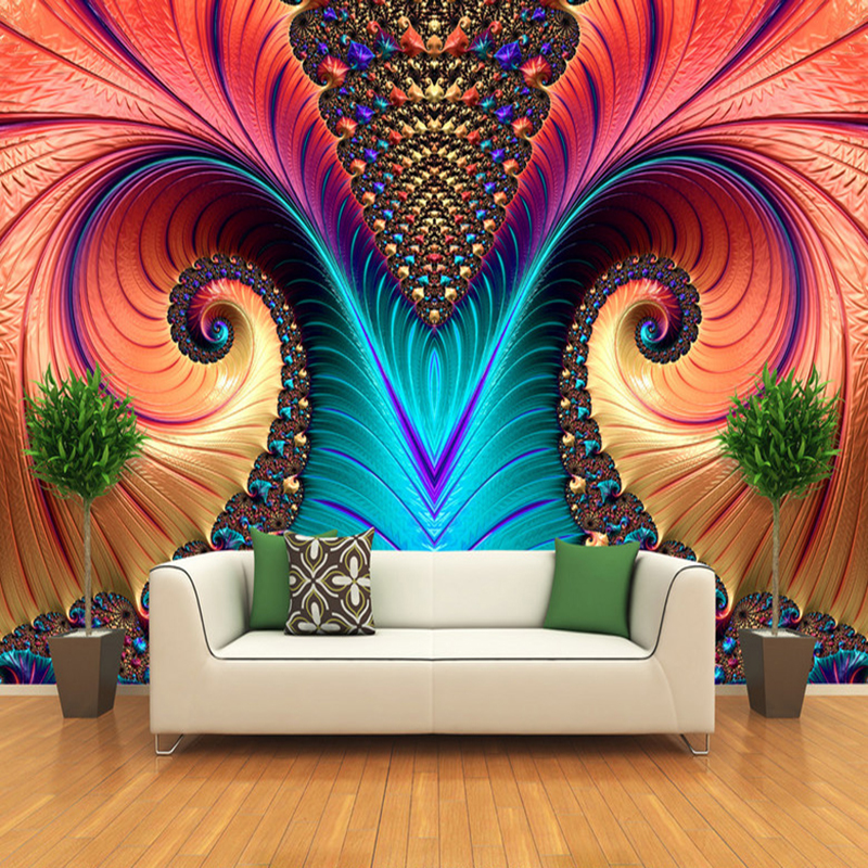 Personalized Customization Art Abstract Color Sculpture Photo Wallpaper Modern Living Room Dining Room Gallery Papel Mural 3 D penelope curtis modern british sculpture