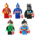 Superman USB Flash Drive PenDrive Legopendrive 4G U Disco 8G 16G Pen Drive 64G 32G USB 2.0 Flash Memory Stick Unidade Catton