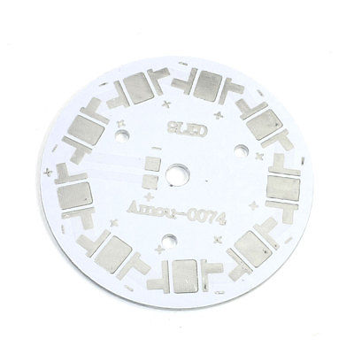 60mm Circle Aluminum PCB Circuit Board Lamp Bases for 9 x 1W 3W 5W LEDs circuit board hardware pcb 1371 2 1 piece