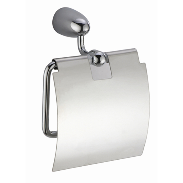 Modern Toilet Paper Holders Hanger Brass Chrome Silver Wall Mounted