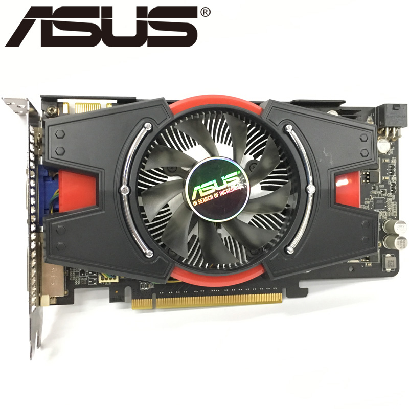 ASUS Video-Cards Card-Gtx Graphics GDDR5 Used Nvidia 550ti 192bit Geforce GTX650 1GB
