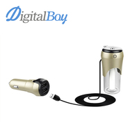 Car Aroma Diffuser 12V Steam Air Humidifier Mini Air Purifier Aromatherapy Essential Oil Diffuser Portable Mist