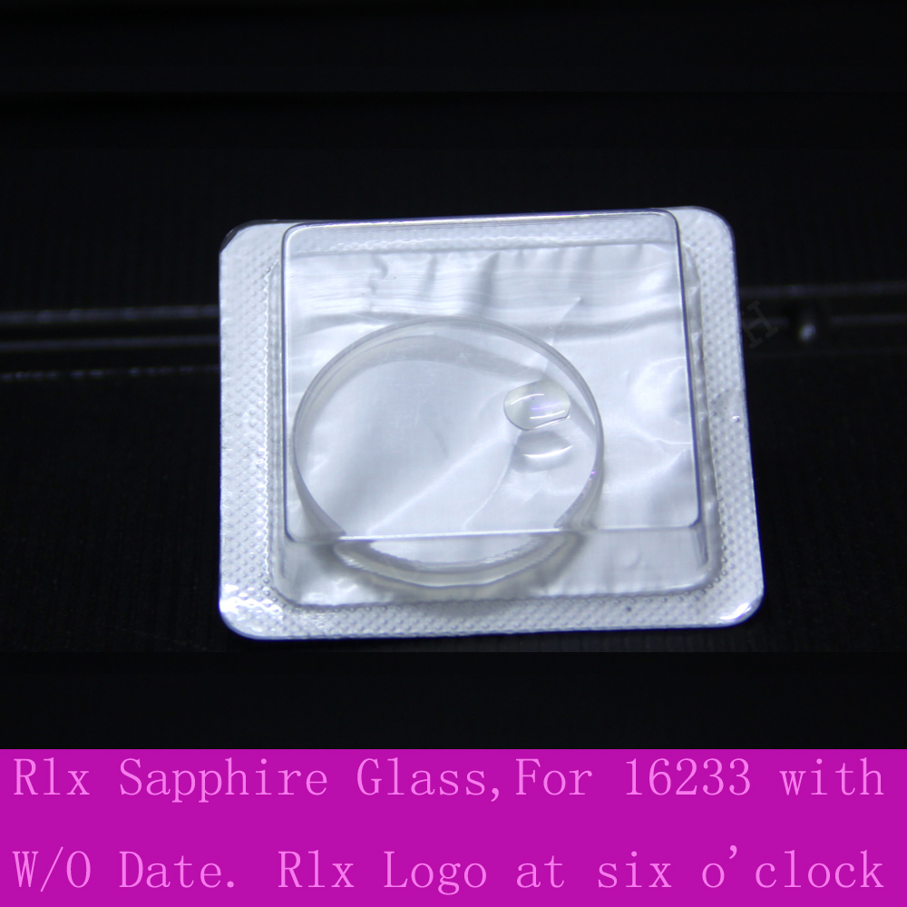 30.4mm Replacement Sapphire Crystal Glass For Rolex DateJust 36mm 16233