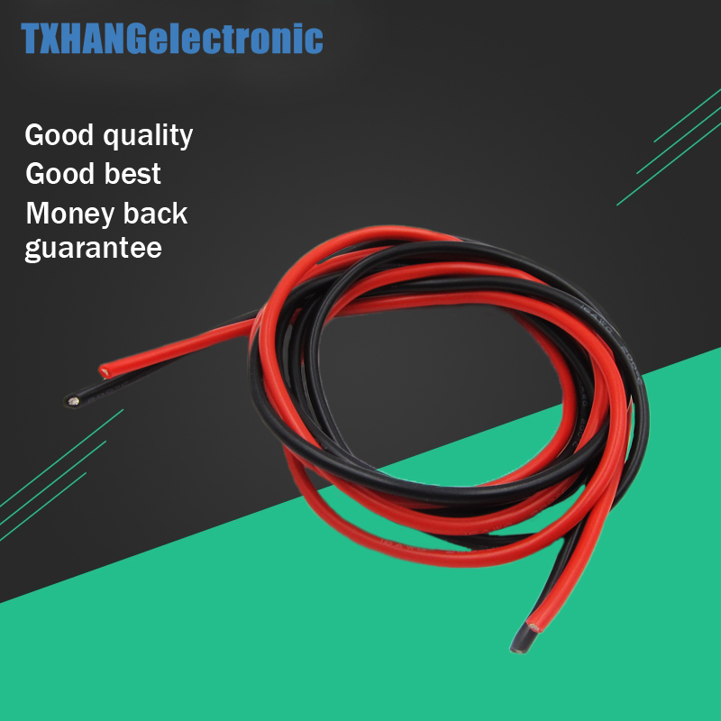 16 AWG (2 mt) Gauge Silikon Draht Flexible Litze Kupfer Kabel für RC ...