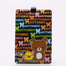 2016 Easily bear cartoon cute luggage tag Bus card set,Bag Parts & Accessories for Travel