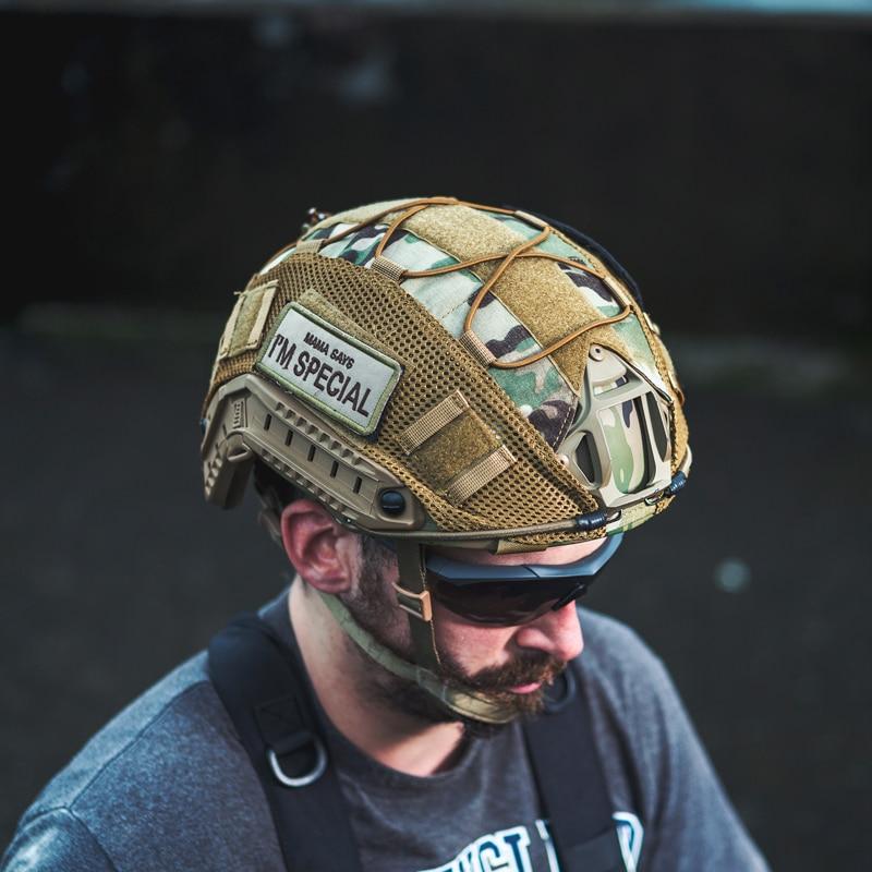 OneTigris Taktische Multicam Helm Abdeckung für XL Ops-Core SCHNELL PJ Airsoft Helme & L Größe Ballistische Helme