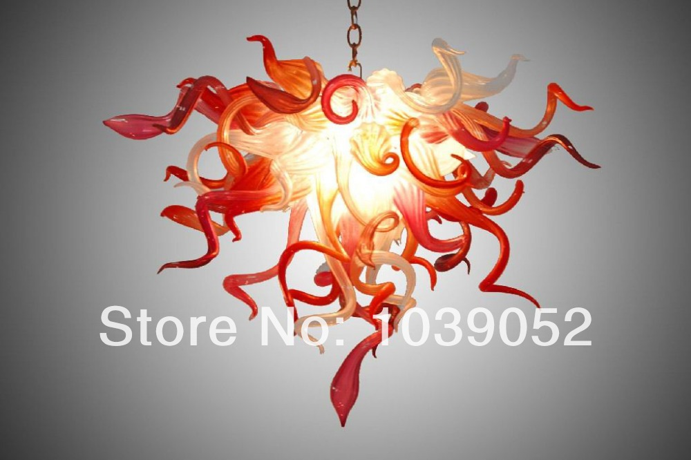 Elegant Lamp Hand Blown Glass Chandelier Prism Home Decoration Free Air Shipping in Chandeliers from Lights Lighting