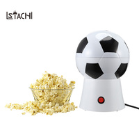 LSTACHi Football Style Electric Popcorn Machine Household DIY Popcorn Maker Food Processors For parents With Kids 1200W Gift