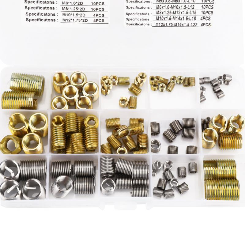 "20  1/"" Long Lot of 25 HeliCoil Screw Thread Inserts Size 1//2/"""
