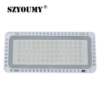 SZYOUMY Ultra Thin Module Flood Light 200W 150W 100W 50W COB LED Floodlight IP65 220V LED Spotlight Refletor Outdoor Garden Lamp