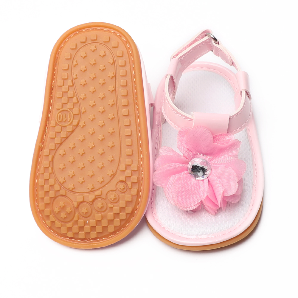 Bébé anti glisse Infant Girl Boy Crib Chaussures Rouge