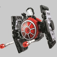 Star War Rogue one Warship Spaceship Microfighters Fighter Mini Team Building Blocks Brick figures toys Compatible with Legoing lepin 05055 star war series the rogue one usc vader tie advanced fighter set 10175 building blocks bricks educational toys