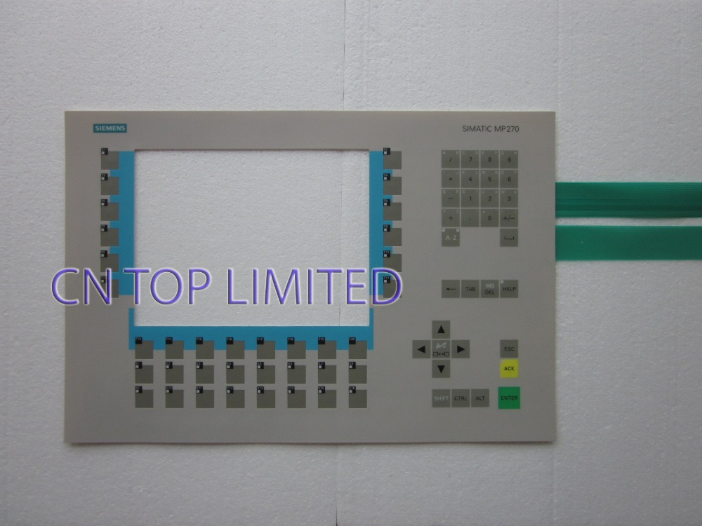 New Membrane Keypad operation panel Button mask for MP270B 6AV6542-0AG10-0AX0 6AV6 542-0AG10-0AX0 new membrane keypad operation panel button mask for mp270 6av6542 0ac15 2ax0
