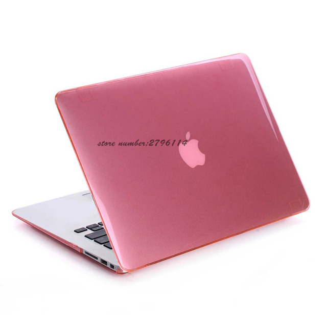 on sale 98d88 bfb43 US $9.67 12% OFF|Aliexpress.com : Buy New Fasion Pink Crystal Case For  Apple Macbook Air Pro Retina 11 12 13 15 Laptop Cover Bag For Mac book 11.6  ...