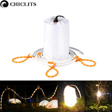 Portable Outdoor Waterproof LED Strip 1 5m DC 5V USB Power LED Rope Lights for Camping