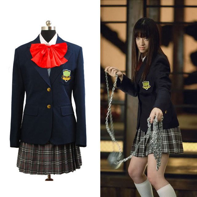08bc71f6f8 Kill Bill Gogo Yubari Uniform Cosplay Costume-in Movie & TV costumes ...