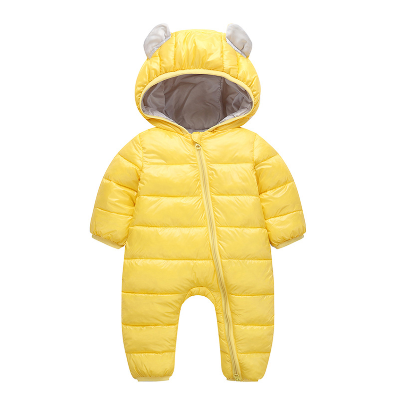 2019 Baby Rompers Winter Jumpsuit for Baby Newborn snowsuit Snow Wear Boys Warm Coats 100% Cotton Girls clothes